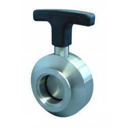 Butterfly valves small flange ISO-K