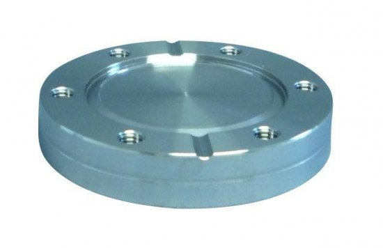 Bild 1 - CF-blind flange turnable with threaded holes DN 160 Øa=203 / b=22,3 / Ød1=161
