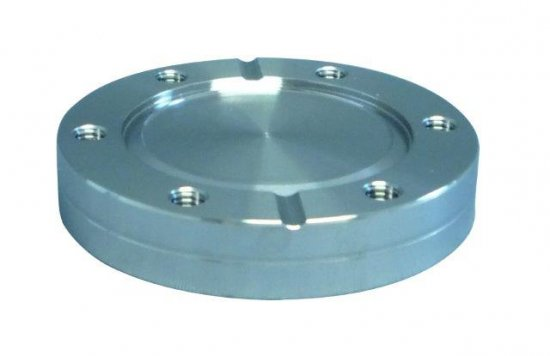 Bild 1 - CF-blind flange 316L fixed with threaded holes DN 250 Øa=305 / b=25 / Ød1=256