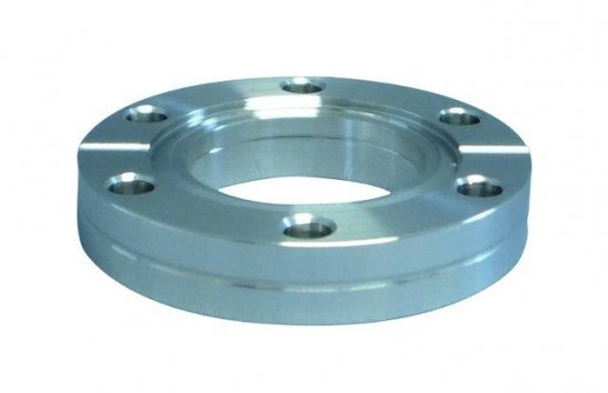 Bild 1 - CF-double-sided passage flange DN 63 Øa=113,5 / b=17,5 / Øf=66