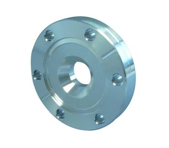 Bild 1 - CF-reducing flange DN 63/16 Øa=113,5 / b=17,5 / Øf=16 / Øk=27 / M4
