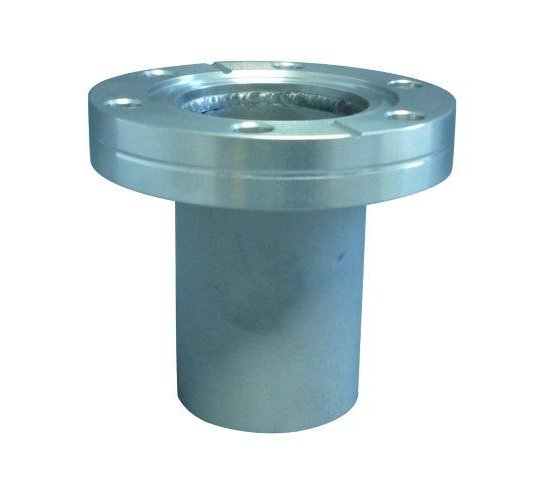 Bild 1 - CF-flange 316L with socket fixed DN 100 l=135 / Ød=104 / s=2.0