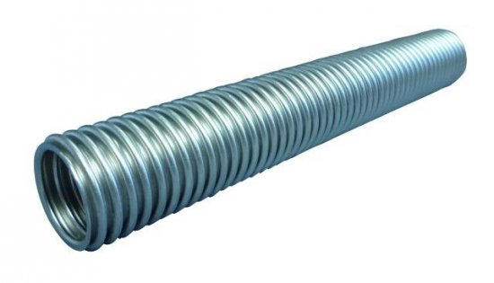 Bild 1 - CF-metal tube, Stainless steel-tube normal yard goods DN 63 extremely flexible (annealed