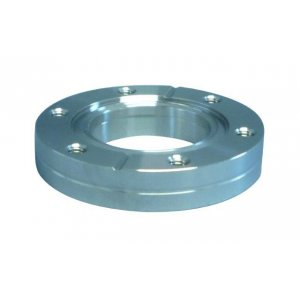 CF-welding flange 316L fixed with threaded holes DN 16 Øa=34 / Øb=7,6 / Ød=18 / Øf=16,5 / e=4,8