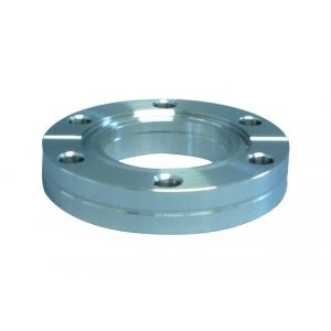 CF-double-sided passage flange DN 16 Øa=34 / b=7,6 / Øf=16,5