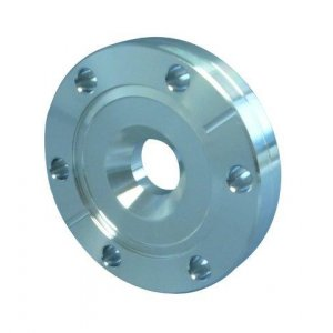 CF-reducing flange DN 160/100 Øa=203 / b=22,3 / Øf=100,5 / Øk=130,3 / M8