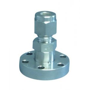CF-Adapter 304L f. double compression tube fitting (Swagelok®-Adapter 304L compatible) DN 16 ØA=10mm / B=42mm
